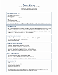 Great Resume Format Best Of Resume Format And Example Examples Of