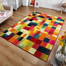 Carpet Mat Design Cuba Rugs 6 X Feature A Modern Block Design With An Array Of