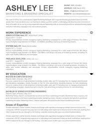 93 Marvelous Amazing Resume Templates Free .