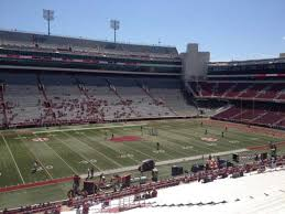 Razorback Stadium Section 106 Home Of Arkansas Razorbacks