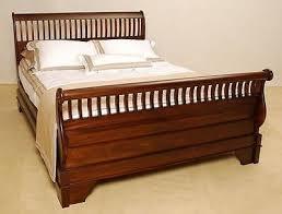 sleigh bedroom furniture. mahogany wood slatted king sleigh bed preorder bedroom furniture