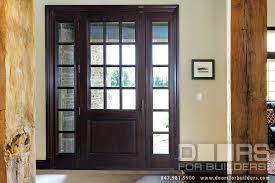 interior clear glass door. Clear Glass Door For Top With Two Sidelites Beveled Grilles Interior