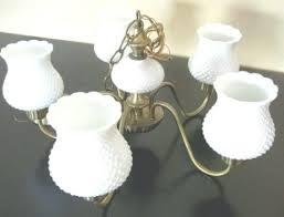 hobnail milk glass chandelier antique hobnail milk glass with regard to milk glass chandelier