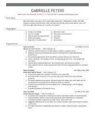 Best Executive Resume Samples Best Executive Resumes Sales Associate