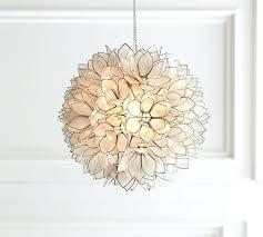 capiz lotus flower chandelier pendant capiz shell lotus flower chandelier