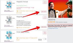Absinthe Las Vegas Seating Chart 14 Ways To Get Absinthe Discount Tickets Promo Code Locals