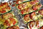 Кабачок запеченный с сыром и помидорами в духовке рецепт 148