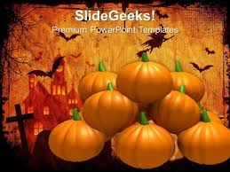 Halloween Pumpkins Festival Powerpoint Templates And Powerpoint
