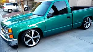 All Chevy c1500 chevy : 1994 Chevy Silverado (C1500) Regular Cab Short Bed Lowrider - YouTube