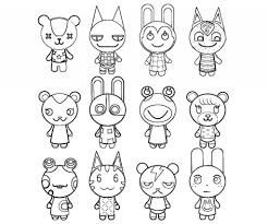 Animal Crossing Coloring Pages With Regard To Your Property And ...