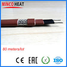 roof wires melt ice roof ice melt cable pipe defrost self regulating electric heat