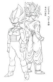 Coloring Pictures Super Pages Of 4 Free Kid Dragon Ball Z God Goku
