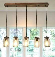 mason jar ceiling light mason jar chandelier