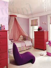 Single Chair For Bedroom Pink Color Of Wall Decorations In Girl Bedroom Designs With Red