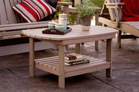 pid 10054 amish polywood oblong coffee table 20 within small wooden outdoor side