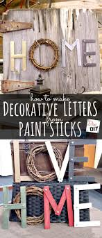 Decorative Letters 17 Best Ideas About Decorative Letters For Wall On Pinterest