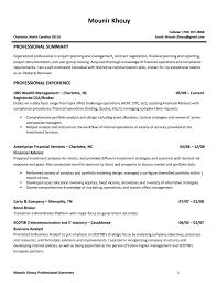 Financial Advisor Resume Template Design