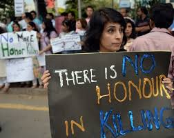 husband murdered in rare male honour killing daily   i activists hold placards during a protest against honour killing in islamabad