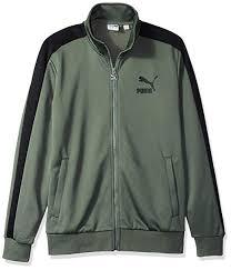 Puma Clothing Size Chart Uk Puma Mens Classics T7 Track Jacket Amazon Co Uk Clothing