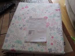 john lewis little home erfly fl pink white blackout girls curtains new