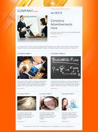 microsoft office company. Email Template News Marketing Business Plan Orange Free Ms Microsoft Office Company S