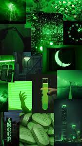Grunge Vintage Dark Green Aesthetic ...