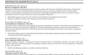 Well Suited Resume Leadership Skil Sevte
