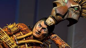 gareth saxe as scar in the lion king on broadway julie