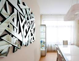 mirror wall art. crafty inspiration ideas mirrored wall art mirror decorative fantail crown 16 c