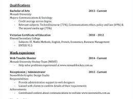 Ausgezeichnet Monash Uni Resume Sample Bilder Beispiel Anschreiben