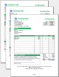 Formato Para Cotizacion De Servicios 10 Plantillas Para Elaborar Presupuestos Descarga Gratis En
