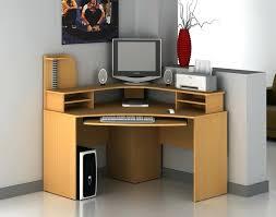 wooden corner computer desk wood small