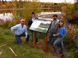 Interpretive Signs Interior Alaska Land Trust
