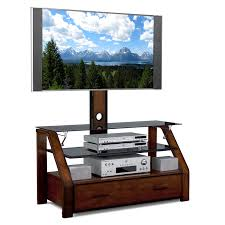 wood tv stand with mount. unique small wooden tv stand with mount and glass shelves plus drawers, 14 gorgeous designs wood n