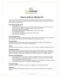 Resume Interests Section Personal Interests For Resume Resume For Study 99
