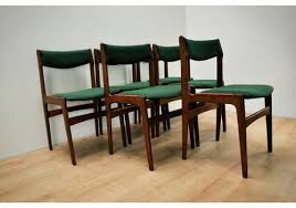 mid century dining chairs by erik buch for oddense mask