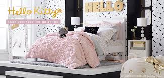 Hello kitty furniture for teenagers Pink Black Hello Kitty Pbteen Hello Kitty Pbteen