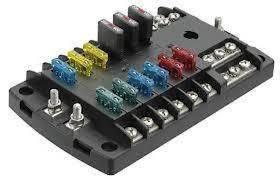 narva 12 way fuse block box holder ats blade caravan dual battery fuse box 12v dc narva 12 way fuse block