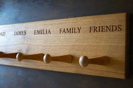Personalised Coat Rack Personalised Coat Hooks MakeMeSomethingSpecial 11