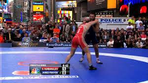 Frayer Wrestling 2012 Beat The Streets 66kg Jared Frayer Usa Vs Dzhalaludin