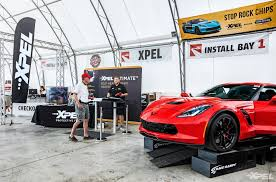 corvette funfest 2017 at mid america motorworks with clear auto bra xpel