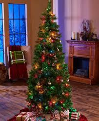 6 FT PRELIT MULTI COLOR LED FIBER OPTIC CHRISTMAS TREE  Angel 6 Foot Christmas Tree With Lights