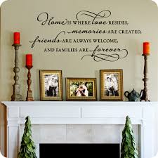 living room wall decals wall quotes