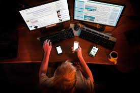 is internet addiction a real thing the new yorker photograph by bill hinton getty
