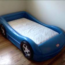 Full Image for Little Tikes Toddler Race Car Bed Dimensions Ebay Racing ...