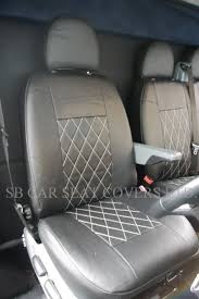 get ations ford transit van 2016 model bentley diamond leatherette seat covers