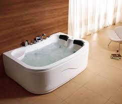 whirlpool 2 person jacuzzi offsett corner bath spa jets massage tap whirlpool jacuzzi bathtub