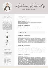 Resume Template 4 page Word DIY Printable CV par TheResumeBoutique
