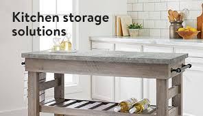kitchen furniture white. Kitchen Storage Solutions Furniture White