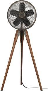 outdoor patio fans pedestal. Arden Tripod Fan With Wooden Legs Outdoor Patio Fans Pedestal L